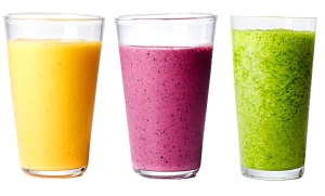 Another secret to smoothies? If it's green, or really dark...it's probably gonna make you poop
